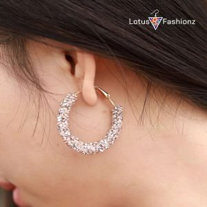 jpeg earrings 300x300 - Minimaslist Design Big Hoop Earrings For Women