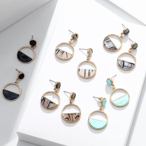 15336 9f6b93 600x600 - Charm Hollow Geometric Pendant Earrings