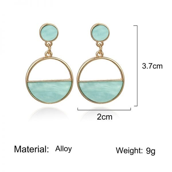 15336 b0569f 600x600 - Charm Hollow Geometric Pendant Earrings