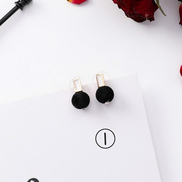 15415 90d7ea 600x600 - Girl Earrings Black Geometry Drop Earrings