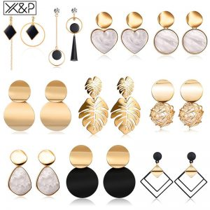 15425 99e1e3 300x300 - Vintage Geometric Acrylic Dangle Hanging Earring Jewelry