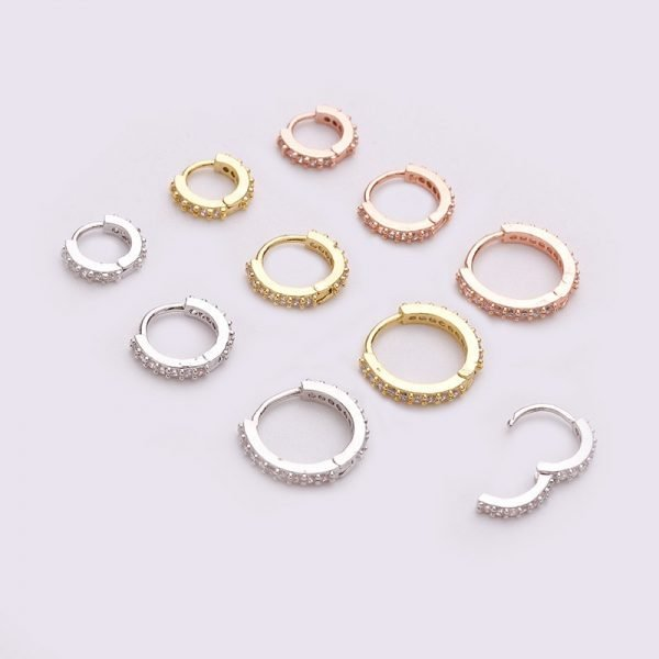16157 a5fb09 600x600 - Sellsets New Arrival 1pc 6mm/8mm/10mm Cz Hoop Cartilage Earring Helix Tragus Daith Conch Rook Snug Ear Piercing Jewelry