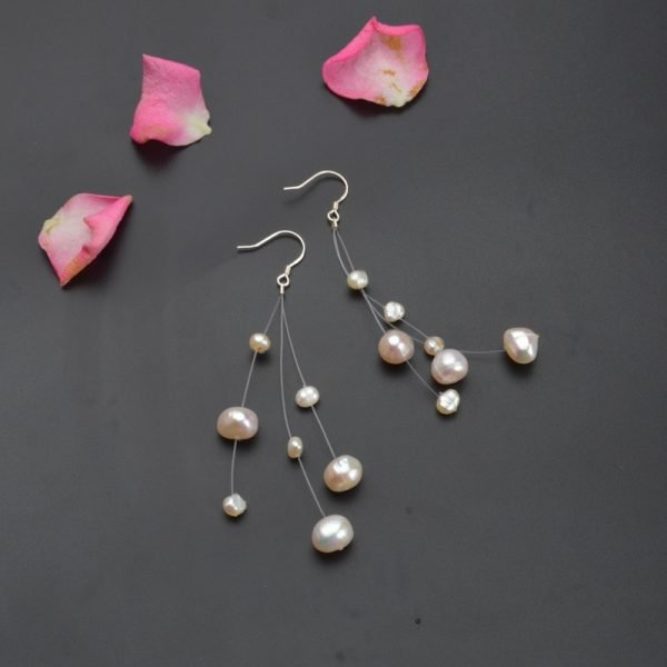 16911 218b5c 600x600 - ASHIQI White Natural Freshwater Baroque Pearl bohemian earrings 925 Sterling Silver long Tassels Dangle Earrings for Women Gifts