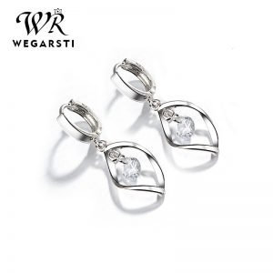 17043 b7c7b1 300x300 - WEGARASTI Silver 925 Jewelry Earrings 925 Sterling Silver Fashion Women Earrings Simple Style Jewelry Gift For Girls Wholesale