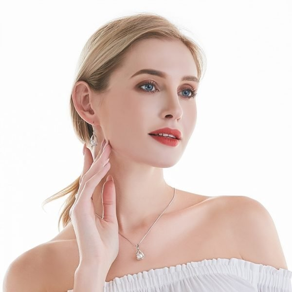 17098 b844ab 600x600 - Natural Freshwater Pearl Drop Earrings For Women Elegant 925 Sterling Silver Anti allergy Earrings DIY Cage Jewelry 2019 cauuev