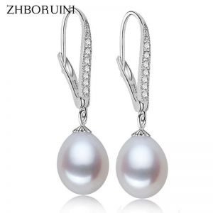 17144 3e9cf8 300x300 - ZHBORUINI Fashion Pearl Earrings Natural Freshwater Pearl Pearl Jewelry Drop Earrings 925 Sterling Silver Jewelry For Woman Gift