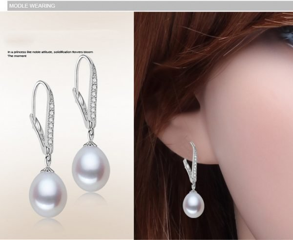 17144 c29fd9 600x492 - ZHBORUINI Fashion Pearl Earrings Natural Freshwater Pearl Pearl Jewelry Drop Earrings 925 Sterling Silver Jewelry For Woman Gift
