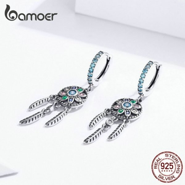 17327 8d1e07 600x600 - Dream Catcher Hanging Drop Earrings