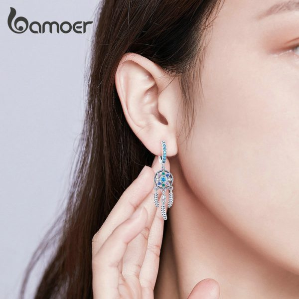 17327 9a4234 600x600 - Dream Catcher Hanging Drop Earrings