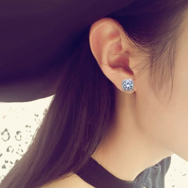 17378 125902 600x600 - 2020 New Fashion jewelry 925 silver Needle Hollow Carved Earrings Female Crystal from Swarovskis Woman Christmas gift