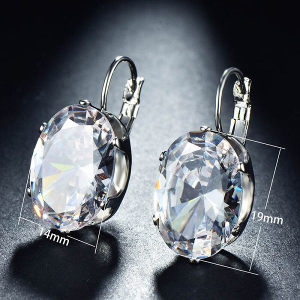 17424 bf4bbb 600x600 - Cellacity Korean 925 silver Earrings with oval citrine gemstone  Engagement Earrings Drop Earrings For Women Jewelry wholesale