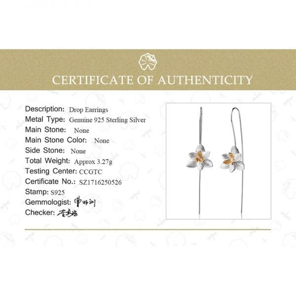 17474 975793 600x600 - Lotus Fun Real 925 Sterling Silver Natural Original Handmade Fine Jewelry Cute Blooming Flower Fashion Drop Earrings for Women
