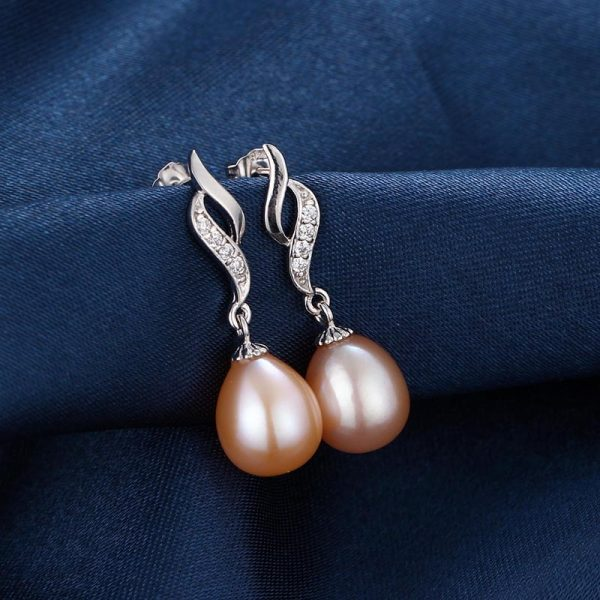 17529 d5694e 600x600 - HENGSHENG 2019 Pearl Earrings Genuine Natural Freshwater Pearl 925 Sterling Silver Earrings Pearl Jewelry For Wemon Wedding Gif