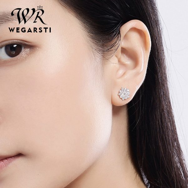 17555 9dd1bc 600x600 - WEGARASTI Silver 925 Jewelry Earrings Woman Pink Cherry Earring 925 Sterling Silver Earrings Wedding Earring