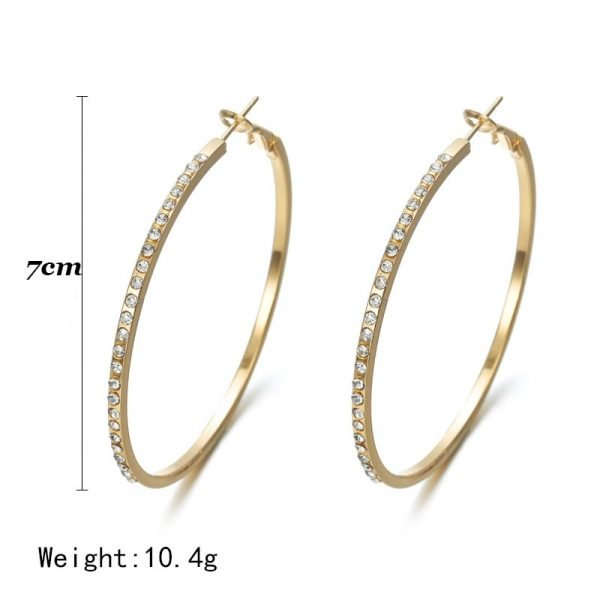 21654 4198d7 600x600 - 7cm Super Crystal Big Circles Hoop Earrings