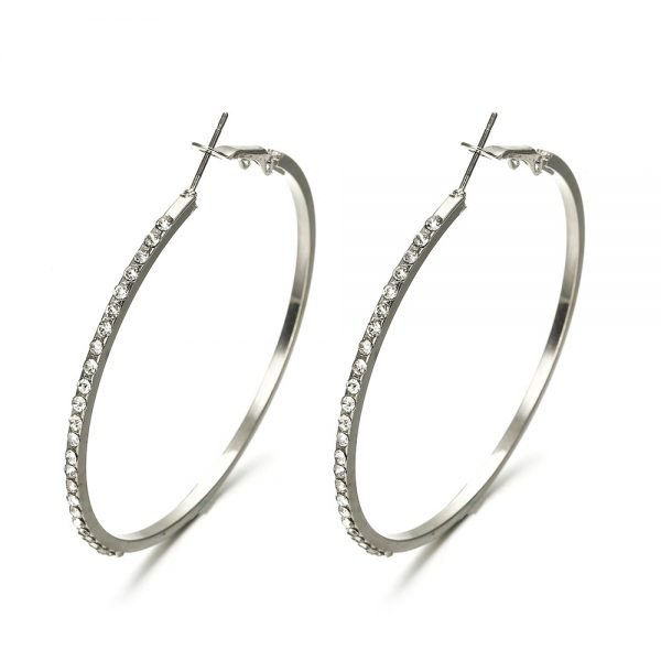21654 f3b5c1 600x600 - 7cm Super Crystal Big Circles Hoop Earrings