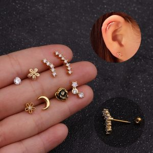 21801 93d947 300x300 - Imixlot  New Design Cz Curved Bar Cartilage Earring Conch Piercing Helix Stud Ear Piercing Jewelry