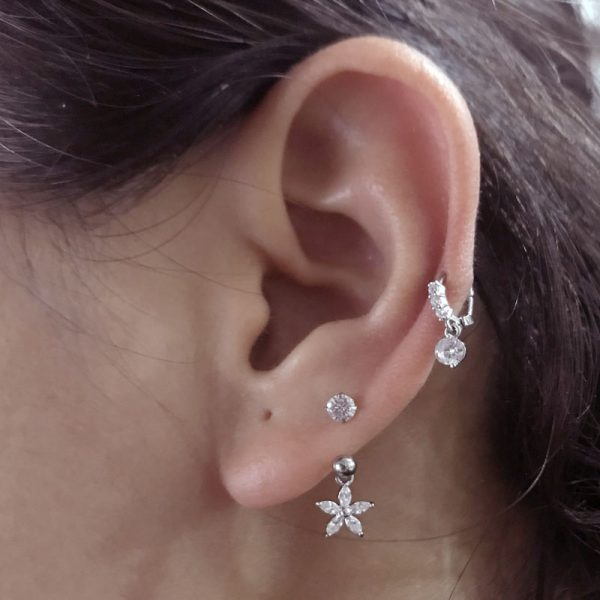 22051 3f0d71 600x600 - Sellsets 1 PC Steel CZ Hoop With Cubic Zirconia Dangle Ear Tragus helix Daith Cartilage Rook Piercing Jewelry