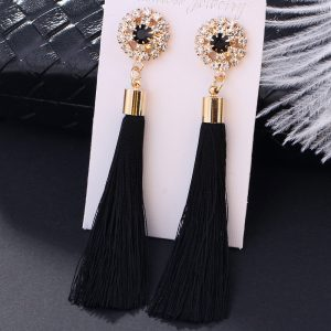 22975 267244 300x300 - L&H Handmade Tassel Earrings For Women 2018 Fashion Female Drop Earrings Jewelry Vintage Statement Crystal Silk Long Earrings