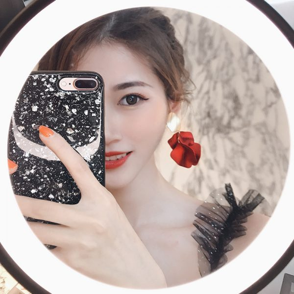 23657 b1c339 600x600 - Sexy Statement Red Flower Petal Earrings For Women 2019 New Hot Jewelry Pendientes