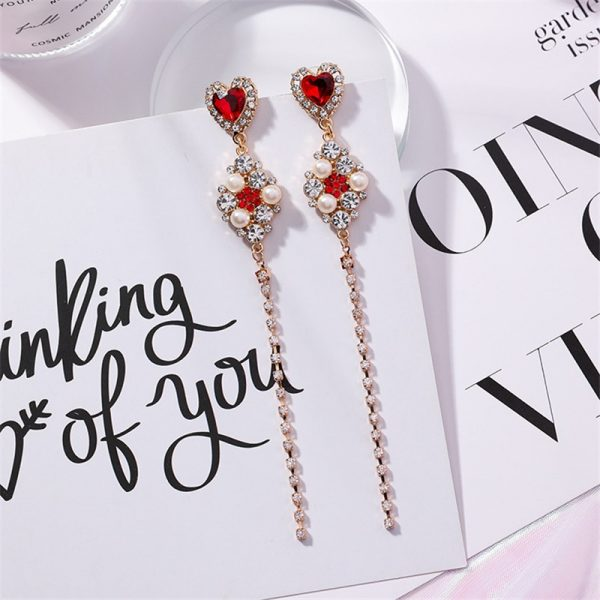 24186 03da5b 600x600 - 2019 New Hot Sale 20 Style Red Fashion Korean Elegant Geometric Dangle Earrings for Women Cute Pendant Mujer Jewelry