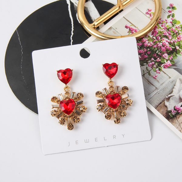 24186 2a7b6c 600x600 - 2019 New Hot Sale 20 Style Red Fashion Korean Elegant Geometric Dangle Earrings for Women Cute Pendant Mujer Jewelry