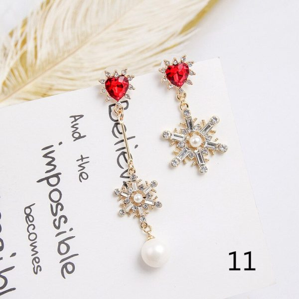 24186 815f2e 600x600 - 2019 New Hot Sale 20 Style Red Fashion Korean Elegant Geometric Dangle Earrings for Women Cute Pendant Mujer Jewelry