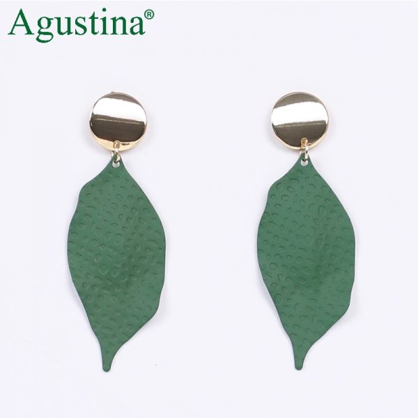 24484 428ec1 600x600 - Agustina 2020 Fashion Earrings Jewelry Women Bohemian Metal Drop Earrings Cute Red/Pink/Blue Earrings Statement Korean Wholesale