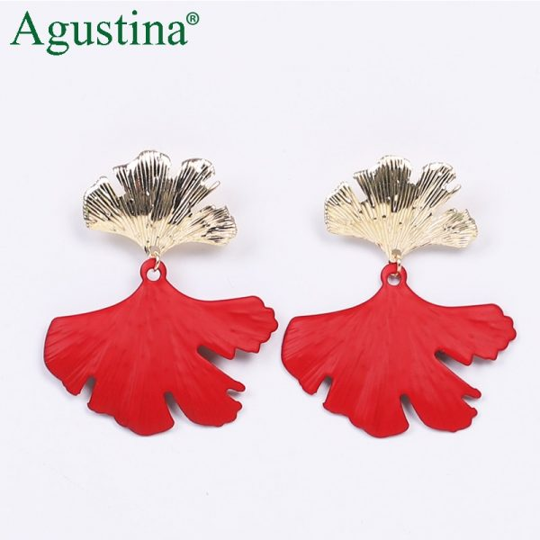 24484 74ca0e 600x600 - Agustina 2020 Fashion Earrings Jewelry Women Bohemian Metal Drop Earrings Cute Red/Pink/Blue Earrings Statement Korean Wholesale