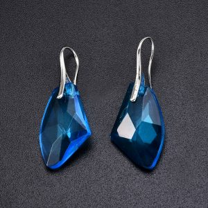 24717 a1ab96 300x300 - New Fashion Personality Blue women Crystal Long Drop Earrings Jewelry for Woman Free shipping