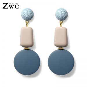 25024 ec822d 300x300 - ZWC Fashion Korean Blue Geometric Acrylic Wood Drop Earrings for Women Statement Dangle Earring 2019 Jewelry brincos oorbellen
