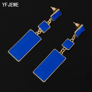 25177 06c85c 300x300 - Fashion Design Geometry  4 Color Alloy Women Blue Enamel Drop Earrings wholesale Long Earrings On Valentine's Day  E002