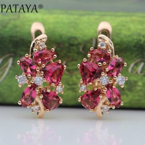 25672 ff60c9 300x300 - PATAYA 828 Promotion New Blue Water Drop Earrings Women Fashion Exclusive Design Jewelry 585 Rose Gold Natural Zircon Earrings
