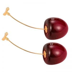 30130 f6e7d7 300x300 - New Fashion Red Cherry Fruit Simple Earrings For Women Tassel Dangle Earrings Sweet Long Pendant Girl Gift Korea Jewelry