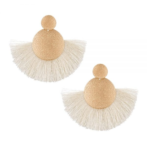 30433 89f54b 600x600 - FAMSHIN Bohemia Red Long Tassel Earrings Vintage Ethnic Fringed Earring For Women Fashion Za Dangle Earrings Brincos Jewelry New