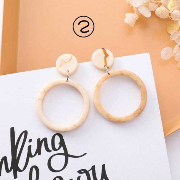 30659 1fff86 600x600 - 2018 New Korean Simple Girl Geometry Cold Style Earrings Fairy Long Tassel Drop Earrings for Women Fashion Jewelry Accessories