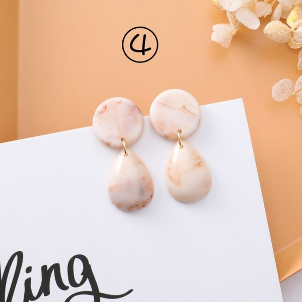30659 4fc99b 600x600 - 2018 New Korean Simple Girl Geometry Cold Style Earrings Fairy Long Tassel Drop Earrings for Women Fashion Jewelry Accessories