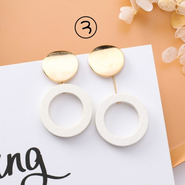 30659 6b51fe 600x600 - 2018 New Korean Simple Girl Geometry Cold Style Earrings Fairy Long Tassel Drop Earrings for Women Fashion Jewelry Accessories
