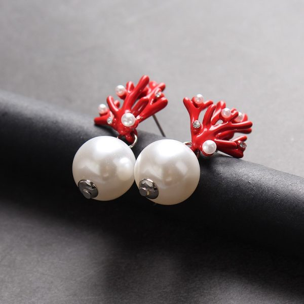 31463 4fb44d 600x600 - WHOMEWHO Red Coral Deer Antler White Faux Pearl Stud Christmas  Earrings Fashion Xmas Gift Jewelry Holiday Party Ear Accessories