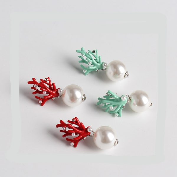 31463 83ab0b 600x600 - WHOMEWHO Red Coral Deer Antler White Faux Pearl Stud Christmas  Earrings Fashion Xmas Gift Jewelry Holiday Party Ear Accessories