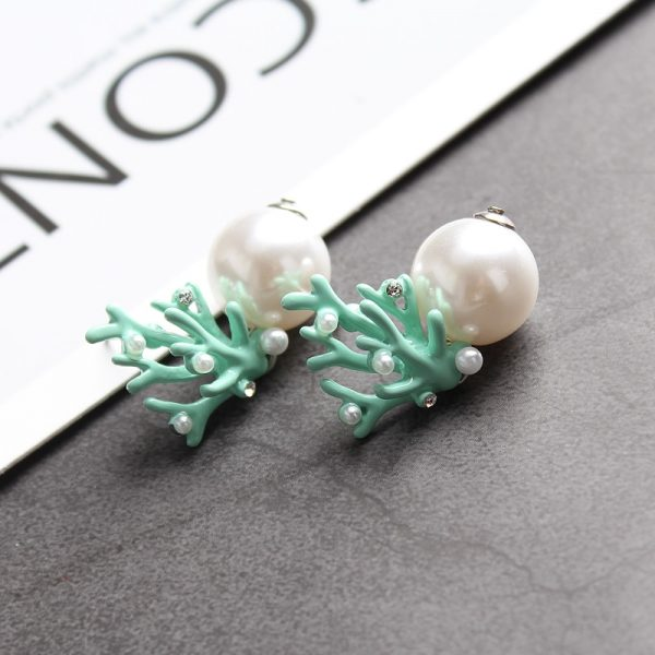 31463 fe072e 600x600 - WHOMEWHO Red Coral Deer Antler White Faux Pearl Stud Christmas  Earrings Fashion Xmas Gift Jewelry Holiday Party Ear Accessories