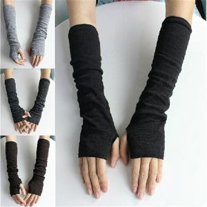 61104 wfnhzz 300x300 - Winter Long Section Of Wool Fingerless Gloves Hot Color Can Be Customized Authentic Free Shipping Sleeve