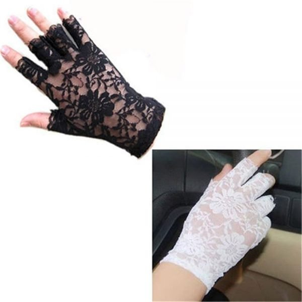 61242 kdwctp 600x600 - 2020 new women vintage stunning gothic sun protection lace lace gloves sexy UV protection smart gloves fingerless mittens new