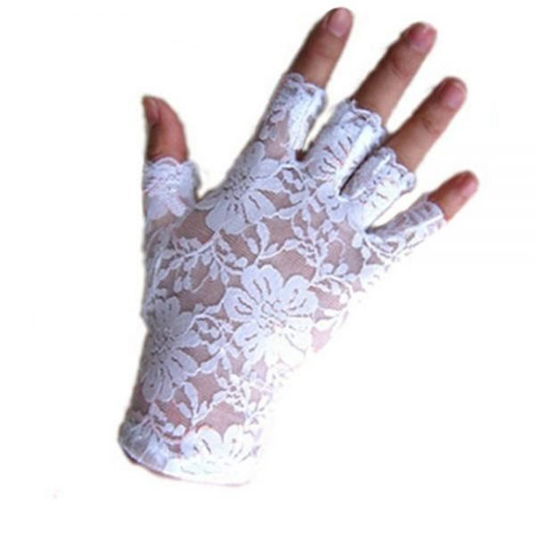 61242 pbfxym 600x600 - 2020 new women vintage stunning gothic sun protection lace lace gloves sexy UV protection smart gloves fingerless mittens new