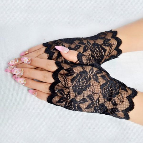 61254 mqsnic 600x600 - Best Sale Sailor Dance Long Fingerless Womens Sexy Lace Gloves Ladies Half Finger Fishnet Gloves Heated Mesh Mitten Handschoenen