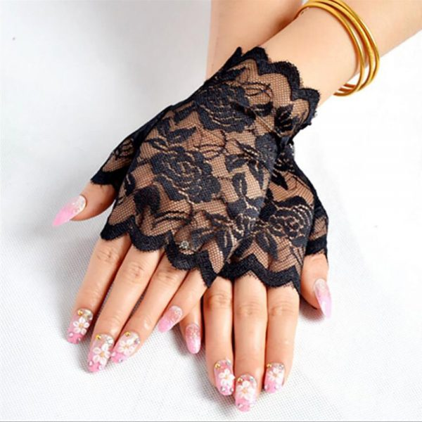 61254 x0loq3 600x600 - Best Sale Sailor Dance Long Fingerless Womens Sexy Lace Gloves Ladies Half Finger Fishnet Gloves Heated Mesh Mitten Handschoenen