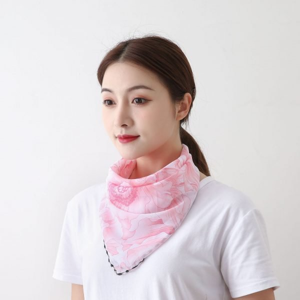 61416 cgxcil 600x600 - Summer Outdoor Riding Mask Wholesale Fashion Printing Female Big Neck Protector Sunscreen Scarf Mask Driving Shading Bib Women