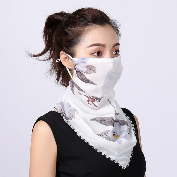 61416 eiou2r 600x600 - Summer Outdoor Riding Mask Wholesale Fashion Printing Female Big Neck Protector Sunscreen Scarf Mask Driving Shading Bib Women