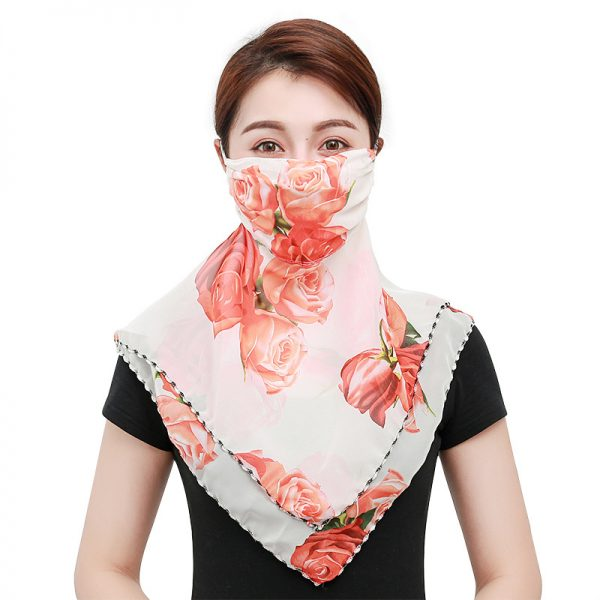 61956 9aea4h 600x600 - Temperament neck breathable mask new spring and summer anti-UV chiffon thin veil sunscreen multi-function large mask scarf