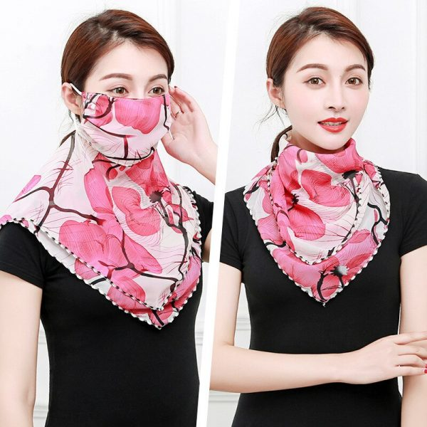 61956 dafecf 600x600 - Temperament neck breathable mask new spring and summer anti-UV chiffon thin veil sunscreen multi-function large mask scarf